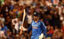MS Dhoni, Kedar Jadav unbeaten fifties power India to 1st