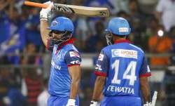 Live Cricket Score, IPL 2019, Mumbai Indians vs Delhi