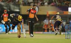 Live Cricket Score, IPL 2019, KKR vs SRH, Match 2 from Eden