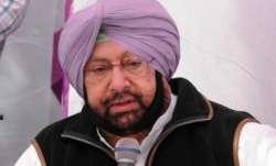 Punjab chief minister Captain Amarinder Singh