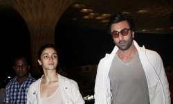 Lovebirds Alia Bhatt and Ranbir Kapoor were sotted twinning