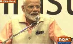 JAI SHRI RAM! Loud chants echo as PM Modi speaks in Japan's