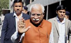 Haryana CM Manohar Lal Khattar meets family of An-32 crash