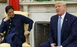 Pak Prime Minister Imran Khan and US President Donald Trump