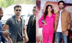 Hrithik Roshan spotted in Delhi, celebrities attend special