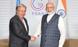 PM Modi holds productive discussions with UN chief Antonio
