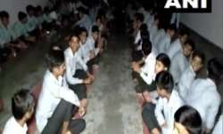 Over 350 students and 50 teachers stuck inside school in