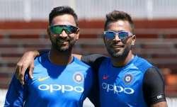 Krunal and Hardik Pandya