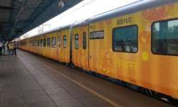India' first private train Tejas Express trial run begins