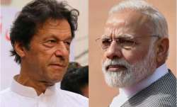 Pakistan PM  Imran Khan (left) and PM Narendra Modi
