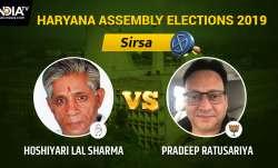 Sirsa Result Live: Pradeep Ratusariya of BJP vs Congress'