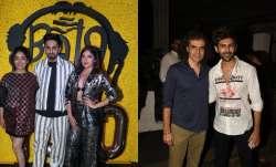 Janhvi Kapoor, Ananya Panday and others attend Kartik