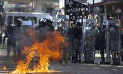 Petrol bombs, weapons found in HK university