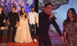 Salman Khan, Saiee Manjrekar, Wareena Hussain and others