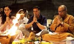 Akshay Kumar, Manushi Chhillar kickstart Prithviraj with muhurat puja