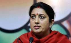 Only 9% children in India get nutritious food: Smriti Irani