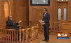 Tarek Fatah in Aap Ki Adalat with Rajat Sharma