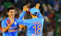 india vs west indies, Deepak Chahar, Virat Kohli