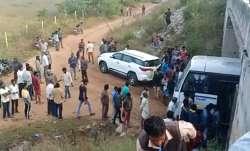 Hyderabad vet rape accused killed
