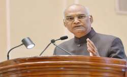 Fake news has emerged as new menace: President Kovind