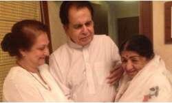 Dilip Kumar is elated as 'choti behen' Lata Mangeshkar is back home