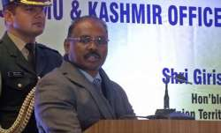 gc murmu resigns,breaking news gc murmu,LT GOVERNOR G C MURMU,Jammu and kashmir,JK Reorganization Bi