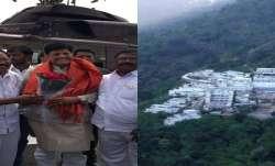 Railway Minister pays obeisance at Vaishno Devi shrine