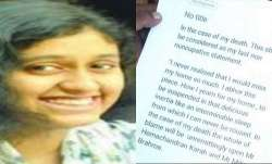 Tamil Nadu government transfers Fathima Latheef suicide case to CBI