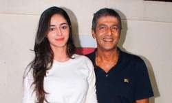 Chunky Panday reacts to daughter Ananya getting trolled recently