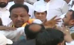 Congress, brawl, Republic Day celebrations, 71st Republic Day celebrations, video