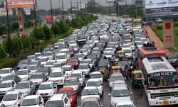 Traffic snarls in Delhi due to Republic Day parade rehearsals (Representational image)