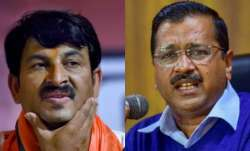 AAP, Kejriwal 'humiliating' Purvanchalis by mocking 'Rinkiya Ke Papa', says Manoj Tiwari