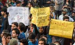 JNU fee-hike issue sorted out, continuing protests not justified: HRD minister