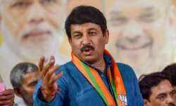 Manoj Tiwari, Delhi BJP chief, Chunav Manch, Manish Sisodia, BJP, AAP