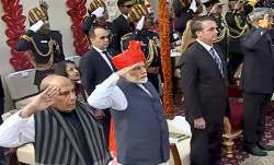 PM Modi sports pagdi during 71st Republic Day celebrations