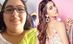 Sara Ali Khan shares before transformation video and you will be surprised