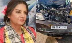 FIR lodged against Shabana Azmi's driver for rash driving