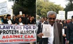 supreme court lawyers protest march, supreme court to jantar mantar, supreme court lawyers protest a