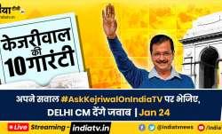 Have questions of Delhi CM? #AskArvindKejriwalonIndiaTV