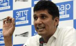 A file photo of AAP MLA Saurabh Bhardwaj