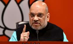 AMIT Shah targets Hemant Soren govt over killing of 7