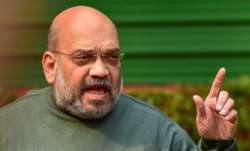 A file photo of Union Home Minister Amit Shah (PTI)