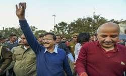 Delhi Chief Minister Arvind Kejriwal, AAP, Manish Sisodia, BJP
