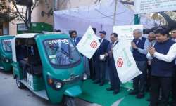 Delhi Metro launches 250 new e-rickshaws at 12 stations.