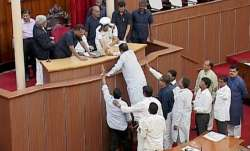 Odisha speaker bans media from reporting ruckus in House