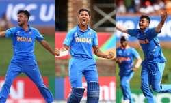 team india, india u19 team, india u19, yashasvi jaiswal, sushant mishra, ravi bishnoi, kartik tyagi,