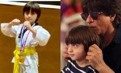 Shah Rukh Khan's son AbRam makes him proud by winning gold medal for Taekwondo