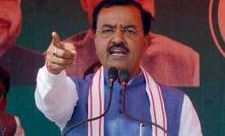 A file photo of Uttar Pradesh's deputy CM Keshav Prasad