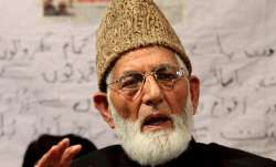 Hurriyat leader Syed Ali Shah Geelani's health stable, condition improving: Doctors