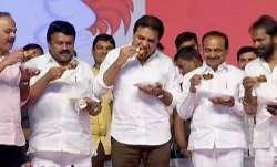 Coronavirus, Telangana ministers, eat chicken, Hyderabad